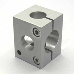 Round Pipe Joint Different-Diameter Hole Type Cross Direction Added Type