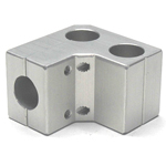 Round Pipe Joint Same Diameter Hole Type 2- Axle Support
