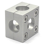 Round Pipe Joint Same Diameter Hole Type 2-Split 6 Directional Holes