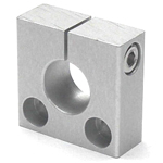 Round pipe joint - Same-Diameter Hole Type Shaft Hole - Additional Vertical Slit
