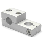 Round Pipe Joint Same-Diameter Hole Type One Direction Split 90° Cross Hole
