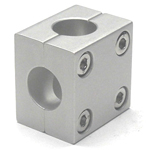 Round Pipe Joint Same-Diameter Hole Type 2-Split Cross Shaped