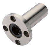 Flanged Linear Bushings - Standard Type - Long Type - with Round Flange