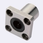 Flanged Linear Bushings - Standard Type - Single Type - with Square Flange