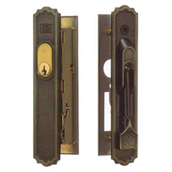 Double-sliding lock Alcock