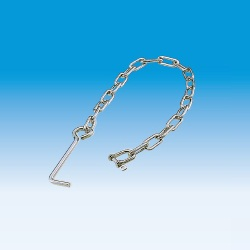 Anchored chain (chain to prevent theft of grating)