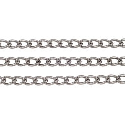 Stainless mantel chain