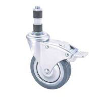 General Casters, GMO Series, with Free Swivel Stopper