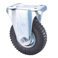 Industrial Caster SKM Series Fixed (Pneumatic Rubber Wheels)