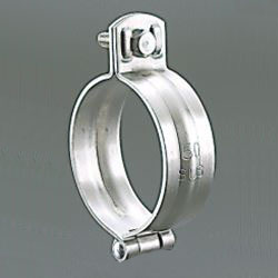 Suspended Pipe Fixture, Stainless Steel Hinged Type Suspended Band with BN