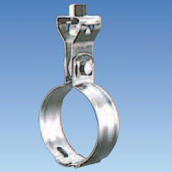 Suspended Pipe Fixture, Stainless Steel Assembly Type Suspended Band with Turn, B Type