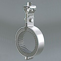 Suspending Pipe Fixture, Stainless Steel Insulated Vibration Proof Suspending Band with Turn