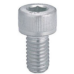 Bargain Hex Socket Head Cap Screw (Cap Bolt) - Trivalent Chromate/Package Sale -