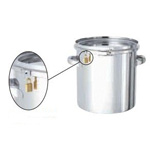 Sealed container with padlock [CTLK]