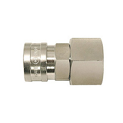 High Coupler, Large-Bore, Stainless Steel, NBR SF