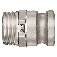 Lever Lock Coupler, Stainless Steel, LF