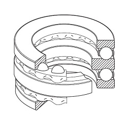 Double-Row Thrust Ball Bearings