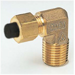 Quick Seal Series Insert Type (Brass Specifications) 90° Elbow (NPT Thread) (Inch Size)