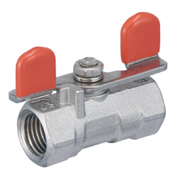 Stainless Steel Ball Valve, SBFS2 Type, Butterfly Handle, Reduced Bore (SCS13A)