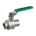 Stainless Steel Ball Valve, SBFF Type, Lever Handle, Full-Bore (SCS14A)