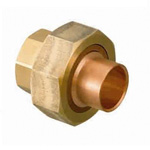 Copper Tube Fitting, Insulation Union (Ring Included)