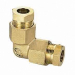 Copper Tube Fitting, ⌀8 and ⌀10 Use L Fitting (Plastic Sleeve)