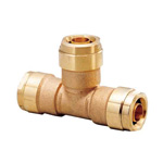 Double Lock Joint, WT1 Type, Tees Socket, Made of Bronze