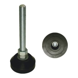 Ono Rubber, Anti-Vibration Leg Pedestal All-Leg Level Adjuster, Left-Right Vibration Proof