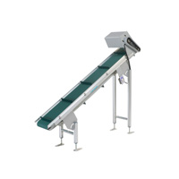 Belcon Mini Belt Type Conveyor with Frieze Rail