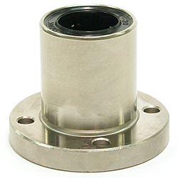 Flanged Linear Bushings ULF-Shaped (U Ultra) Single Round-Shaped Flange