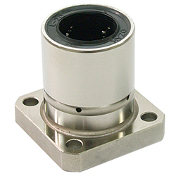 Linear Bush Flanged LFK-OH Type Single Square Flange Lubrication Hole