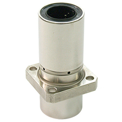 Linear Bush Flanged LFDK-OH Type Double Center Position Square Shape Flange Lubrication Hole