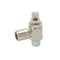 Sputter Resistant Throttle Valve, Brass Elbow