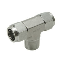 Corrosion Resistant SUS316 Tighten Fitting Tee