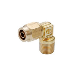 Brass Tightening Coupler Elbow for Sputter Resistance