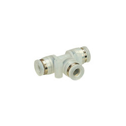 Tube Fitting PP Type Union Tee for Clean Environments