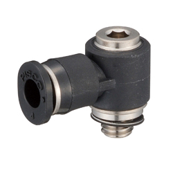 Tube Fitting Mini Type Hexagonal Socket Head Universal Elbow for General Piping