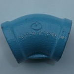 Pipe-End Anticorrosion Fitting, RCF-K-Type, Standard Part, 45° Elbow