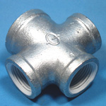 ZD Fittings, White Goods, Four-Way Reducing Cross