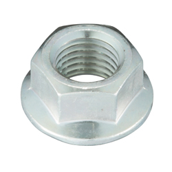 Flange Nut, Non-Serrated, Fine