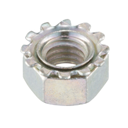 Toothed Washer Nut
