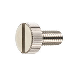 Slotted Knurled Screw