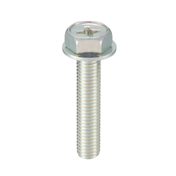 Cross Recessed Hex Upset Screw, P-1 (JIS Flat W)