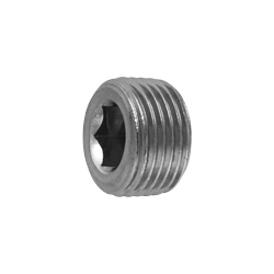 Hexagon Socket Head Tapered Threaded Plug (Sunk), by Tokosha Metal Works Co., Ltd.