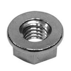 Flanged Nut (Not Serrated) (Imported Item)