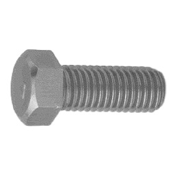 Steel 7 Mark Small Size Hexagon Bolt (Full Thread)