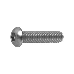Hexagon Socket Button Bolt (Button Cap Screw) (JIS-B1174), by Ansco