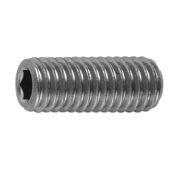 Hexagon Socket Set Screw, with HS Indented Tip