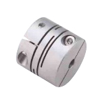 Stainless steel slit coupling, clamping type