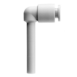 Extended Plug-In Elbow KRW-W2 Flame Retardant (UL-94 Standard V-0 Equivalent) FR One-Touch Fitting